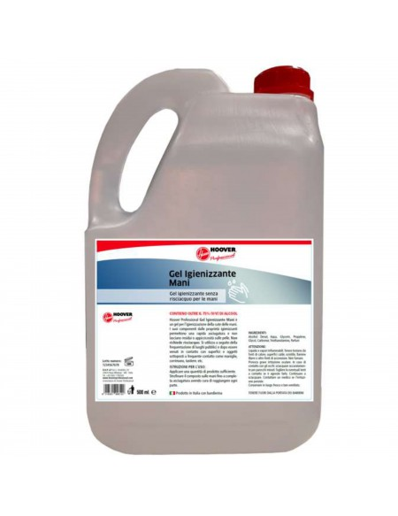Gel igienizzante mani   Tanica 5 litri x4