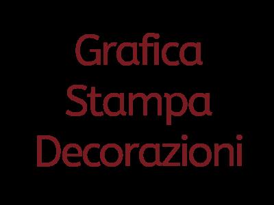 Grafica, stampa e decorazioni