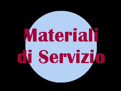 Materiali di Servizio